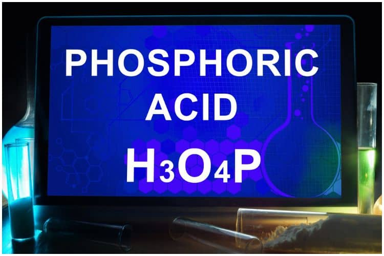 E338 (Phosphoric Acid) - Food Additive Health Hazards (Skin) & Uses (Soda)