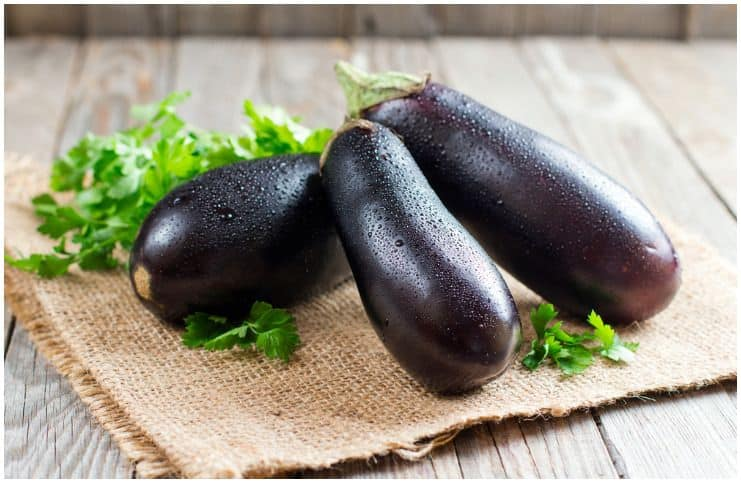 eggplants a